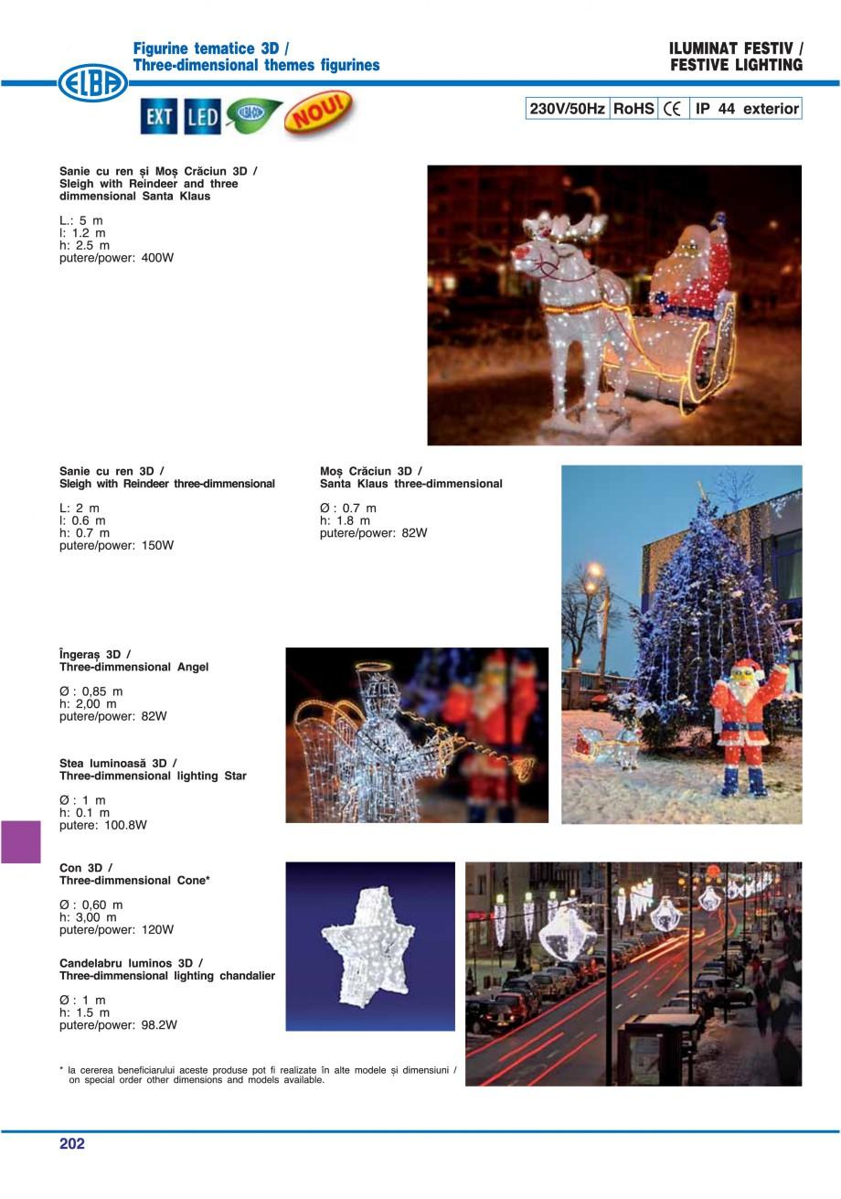 Pagina 205 - Catalog general de produse ELBA ELBA ECRAN CONTRAST, 3S2-TL-LED, 2S2-TL-LED,...