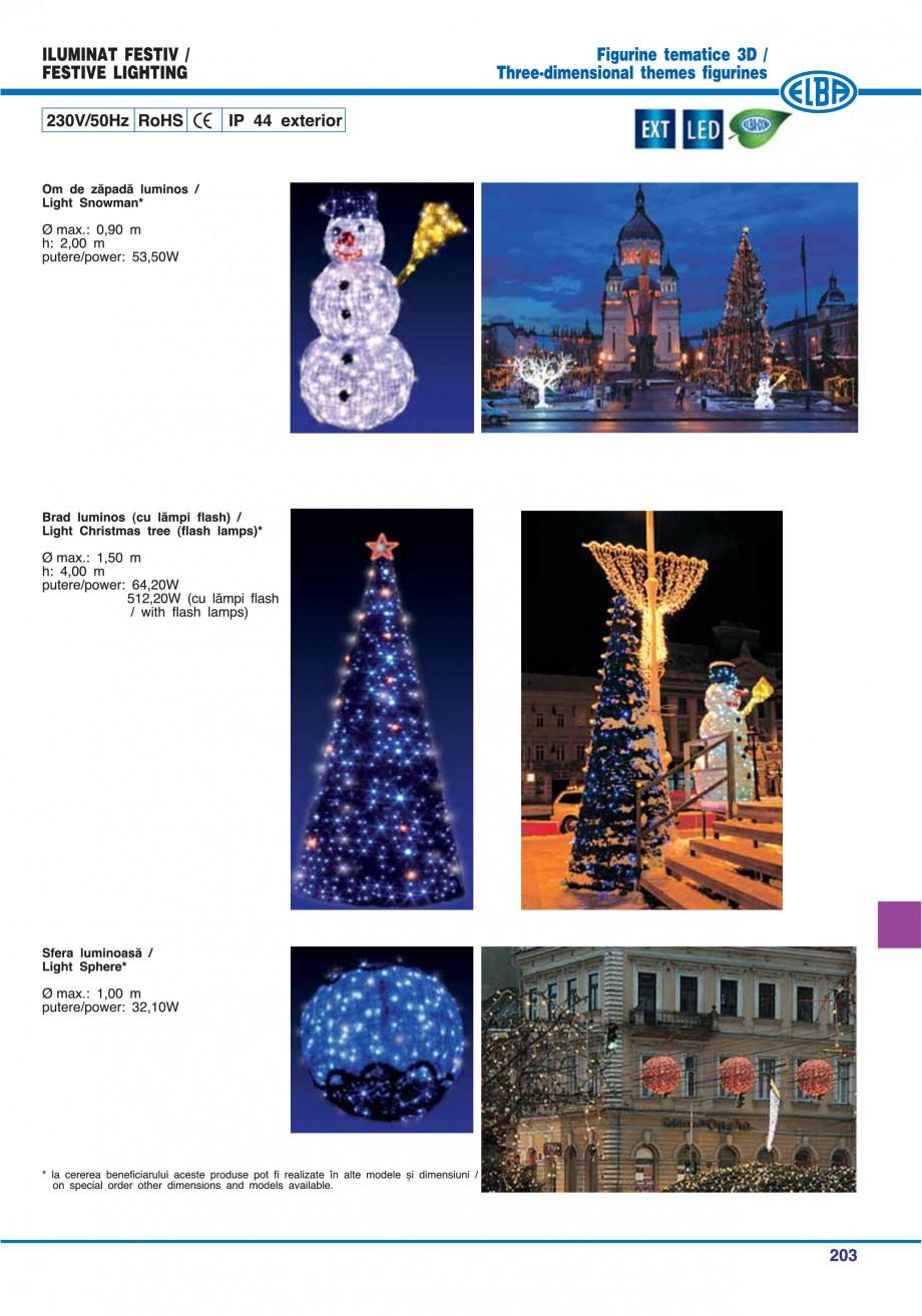 Pagina 206 - Catalog general de produse ELBA ELBA ECRAN CONTRAST, 3S2-TL-LED, 2S2-TL-LED,...