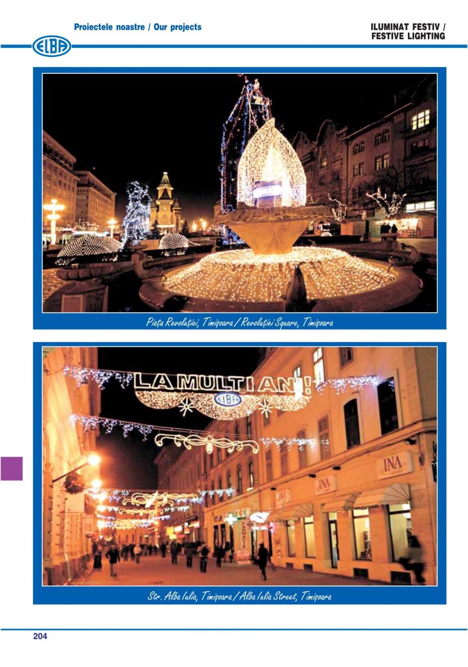 Pagina 207 - Catalog general de produse ELBA ELBA ECRAN CONTRAST, 3S2-TL-LED, 2S2-TL-LED,...