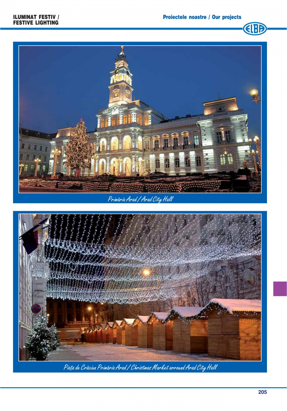 Pagina 208 - Catalog general de produse ELBA ELBA ECRAN CONTRAST, 3S2-TL-LED, 2S2-TL-LED,...