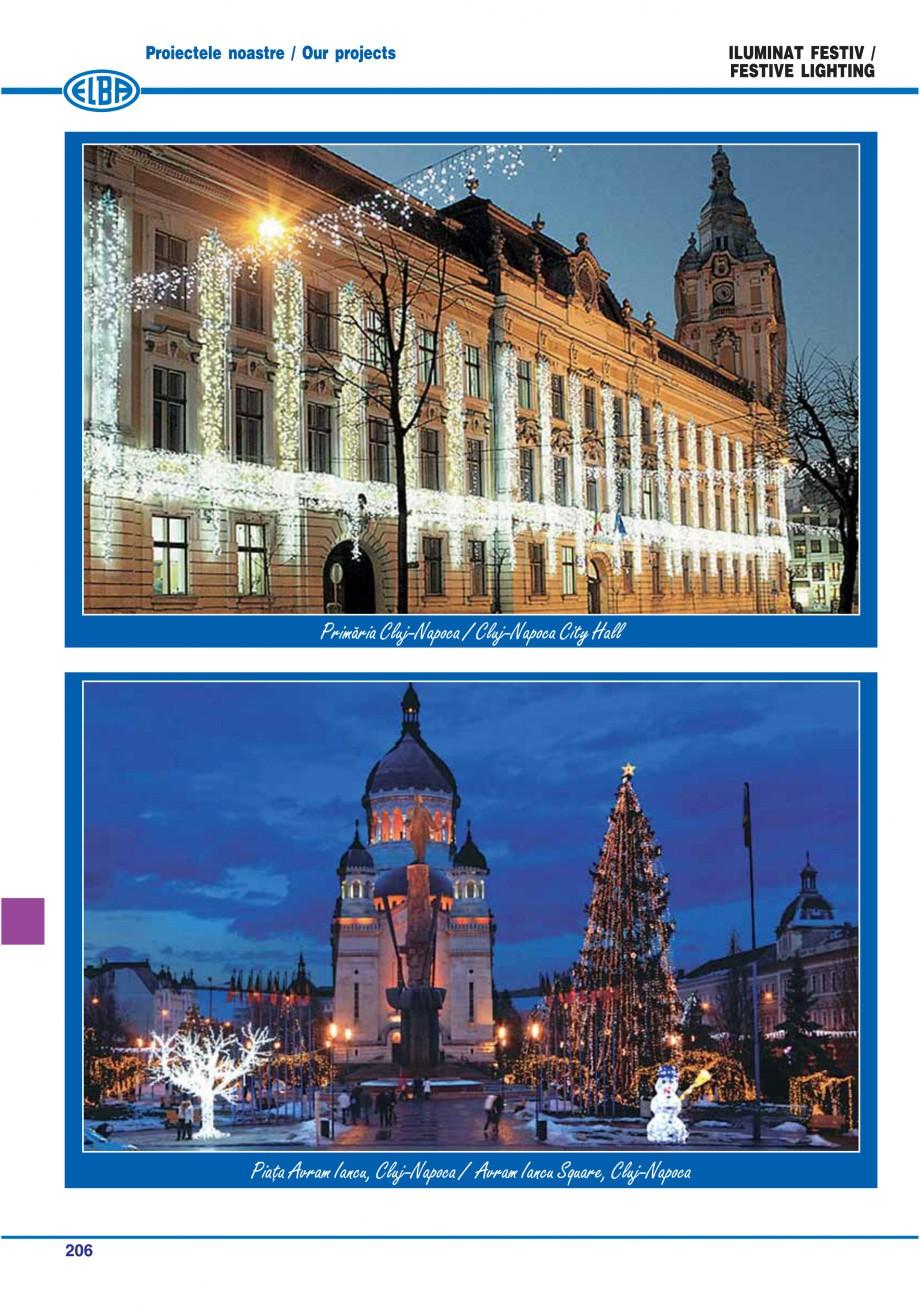 Pagina 209 - Catalog general de produse ELBA ELBA ECRAN CONTRAST, 3S2-TL-LED, 2S2-TL-LED,...
