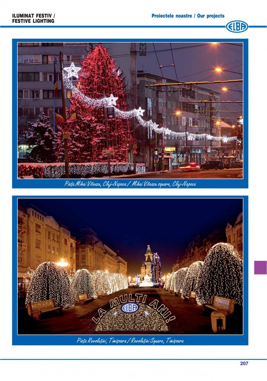 Pagina 210 - Catalog general de produse ELBA ELBA ECRAN CONTRAST, 3S2-TL-LED, 2S2-TL-LED,...
