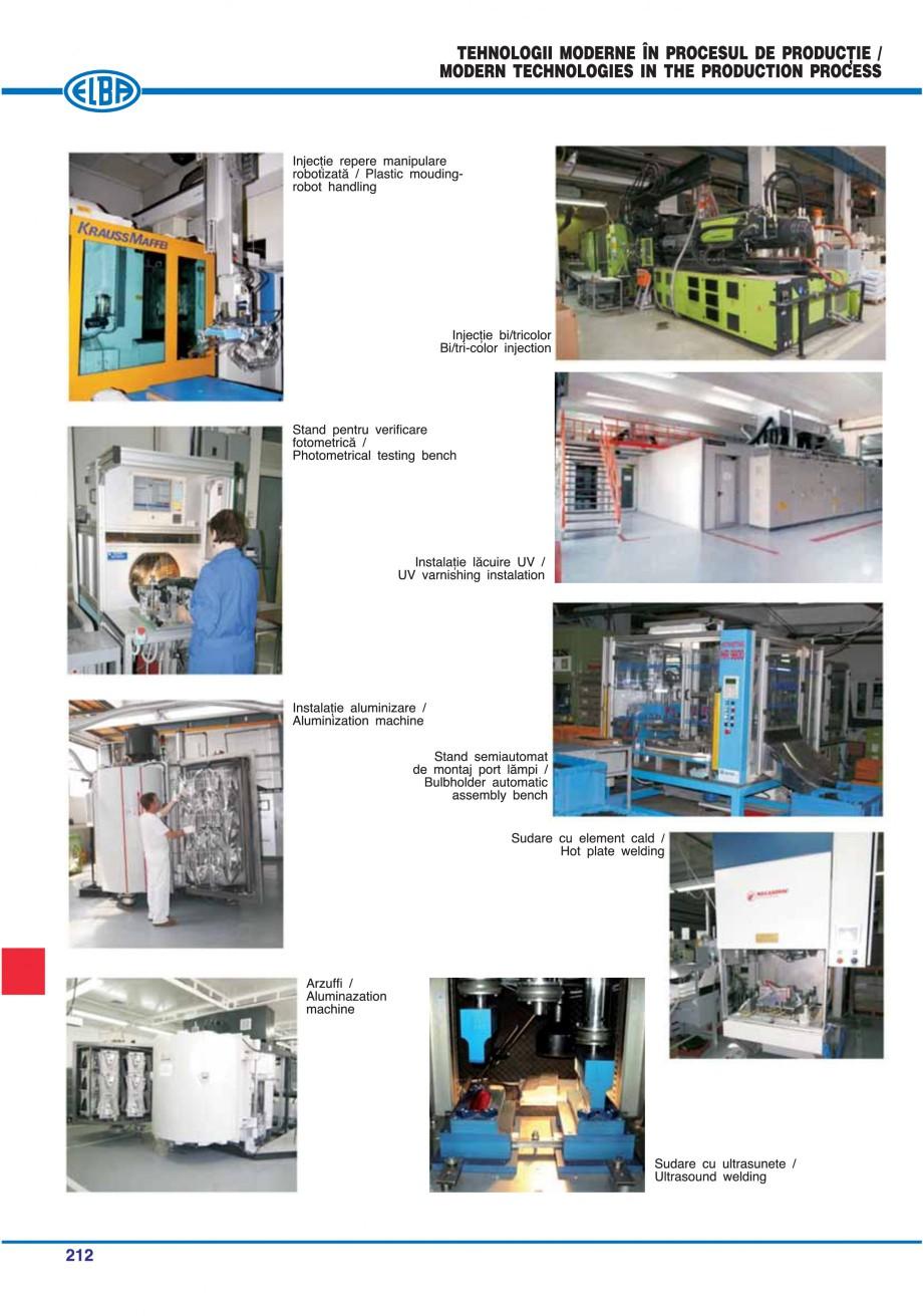 Pagina 215 - Catalog general de produse ELBA ELBA ECRAN CONTRAST, 3S2-TL-LED, 2S2-TL-LED,...