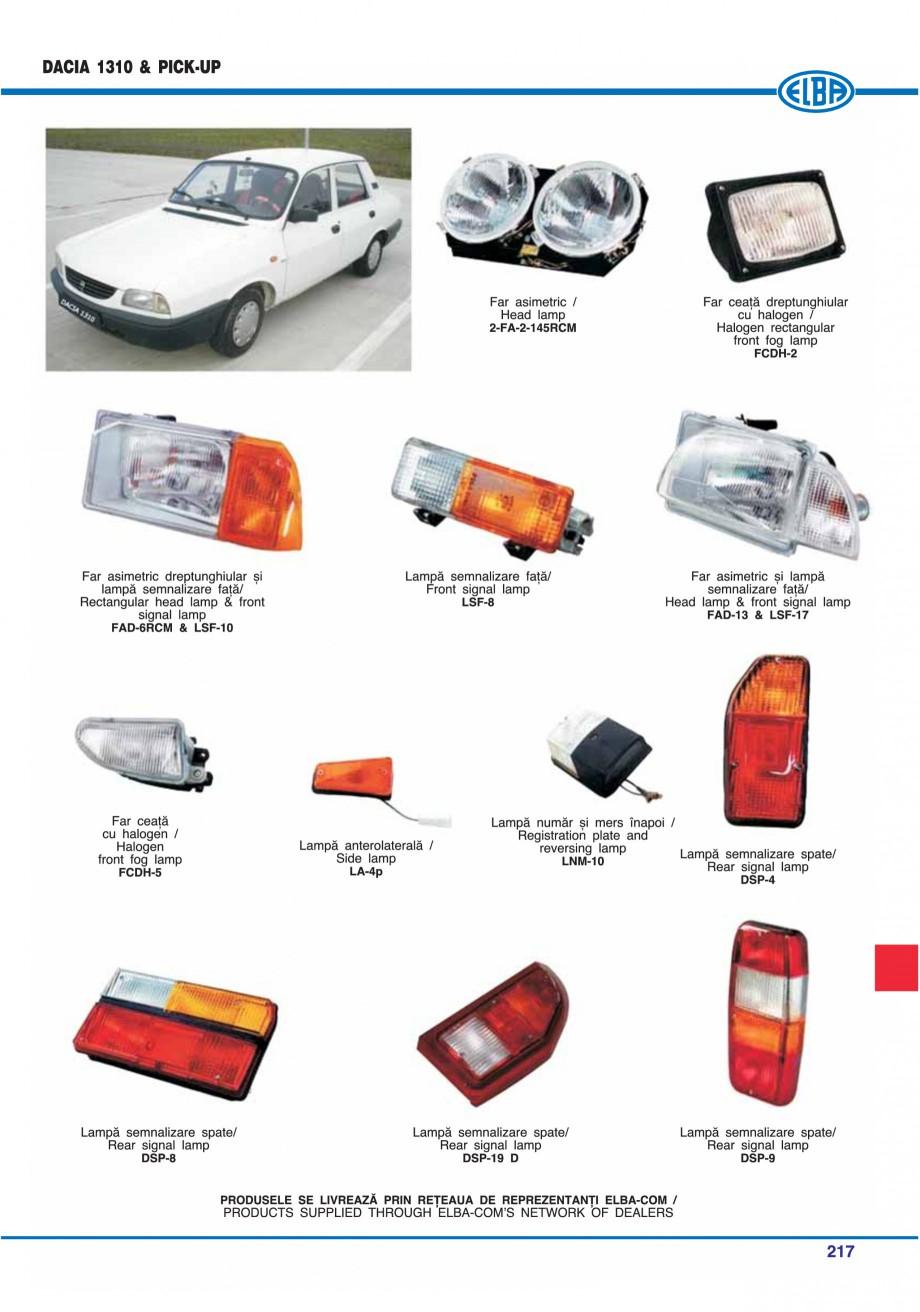 Pagina 220 - Catalog general de produse ELBA ELBA ECRAN CONTRAST, 3S2-TL-LED, 2S2-TL-LED,...