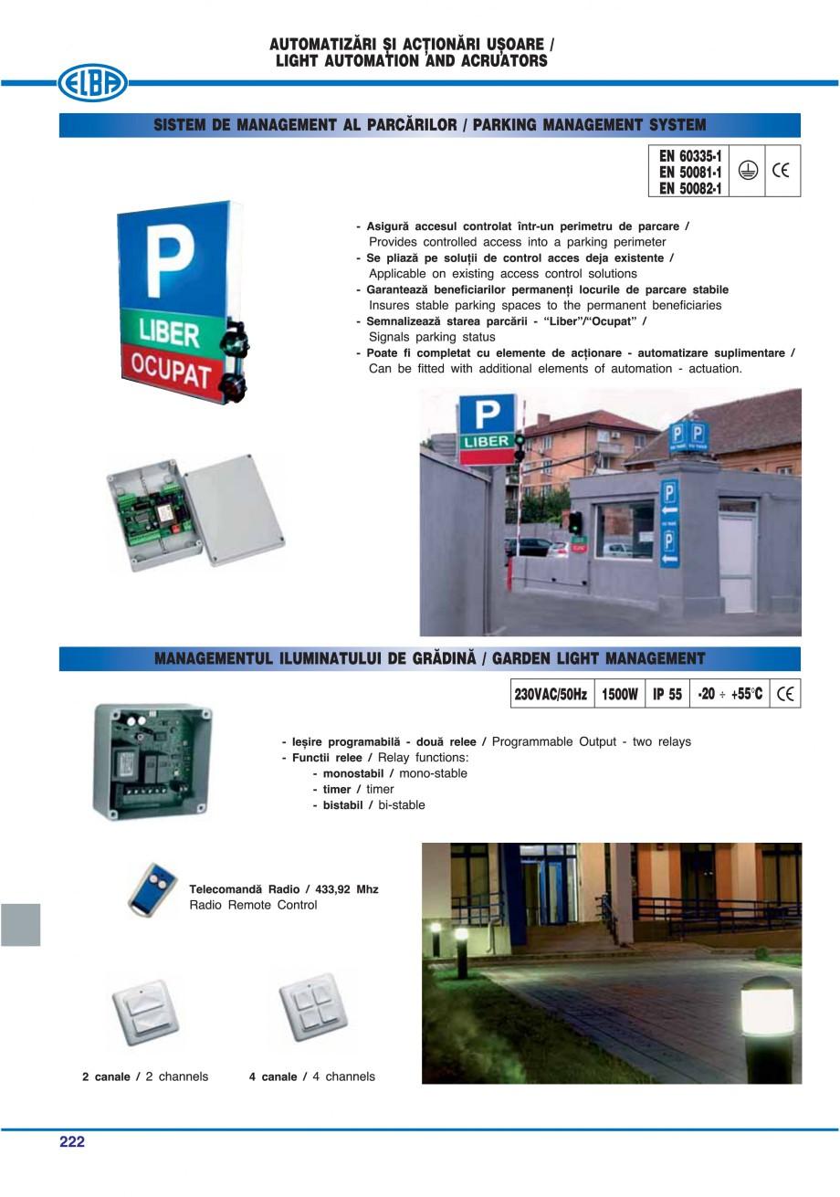 Pagina 225 - Catalog general de produse ELBA ELBA ECRAN CONTRAST, 3S2-TL-LED, 2S2-TL-LED,...