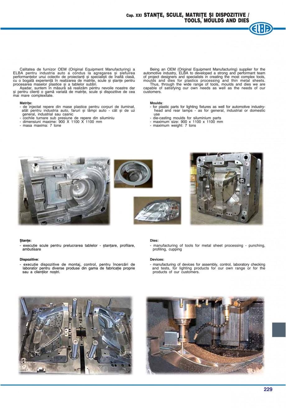 Pagina 232 - Catalog general de produse ELBA ELBA ECRAN CONTRAST, 3S2-TL-LED, 2S2-TL-LED,...