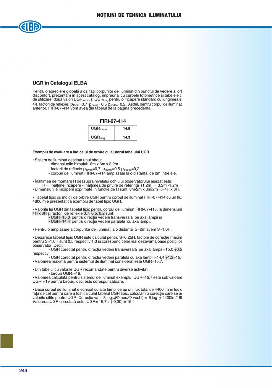 Pagina 247 - Catalog general de produse ELBA ELBA ECRAN CONTRAST, 3S2-TL-LED, 2S2-TL-LED,...