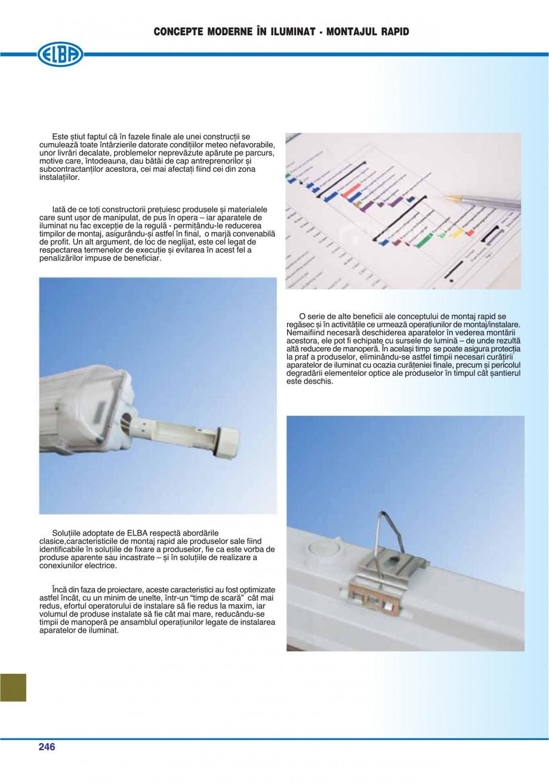 Pagina 249 - Catalog general de produse ELBA ELBA ECRAN CONTRAST, 3S2-TL-LED, 2S2-TL-LED,...