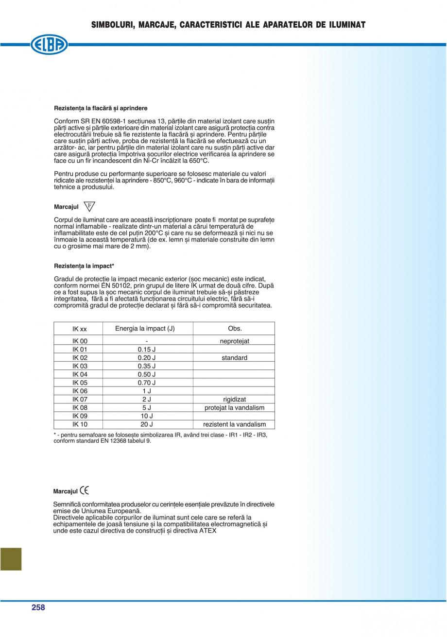Pagina 261 - Catalog general de produse ELBA ELBA ECRAN CONTRAST, 3S2-TL-LED, 2S2-TL-LED,...