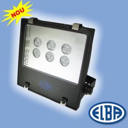 Proiector 3 LUXOR 02 LED d WALL WASHER 02 LUXOR PLUS IMPACT 03 LED DELFI LED