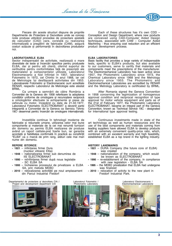Pagina 6 - Catalog general de produse ELBA ELBA-COM CFSM 03, AV 02 C, AI 02 C Catalog, brosura...