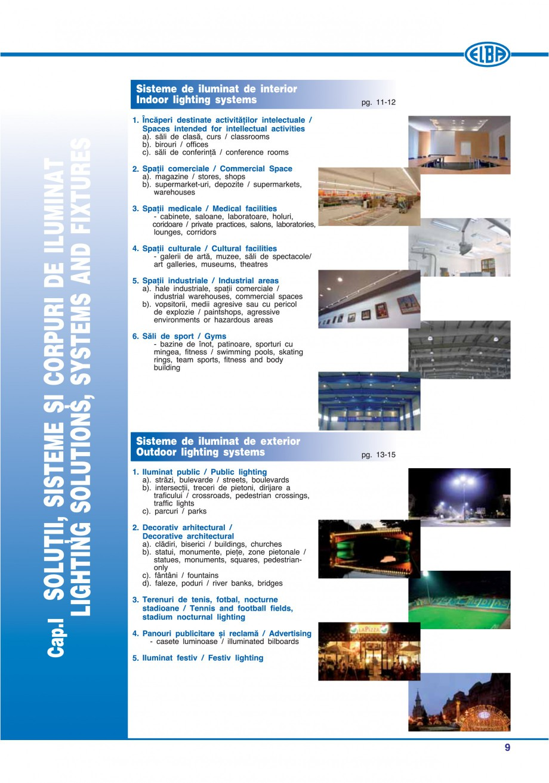 Pagina 12 - Catalog general de produse ELBA ELBA-COM CFSM 03, AV 02 C, AI 02 C Catalog, brosura...