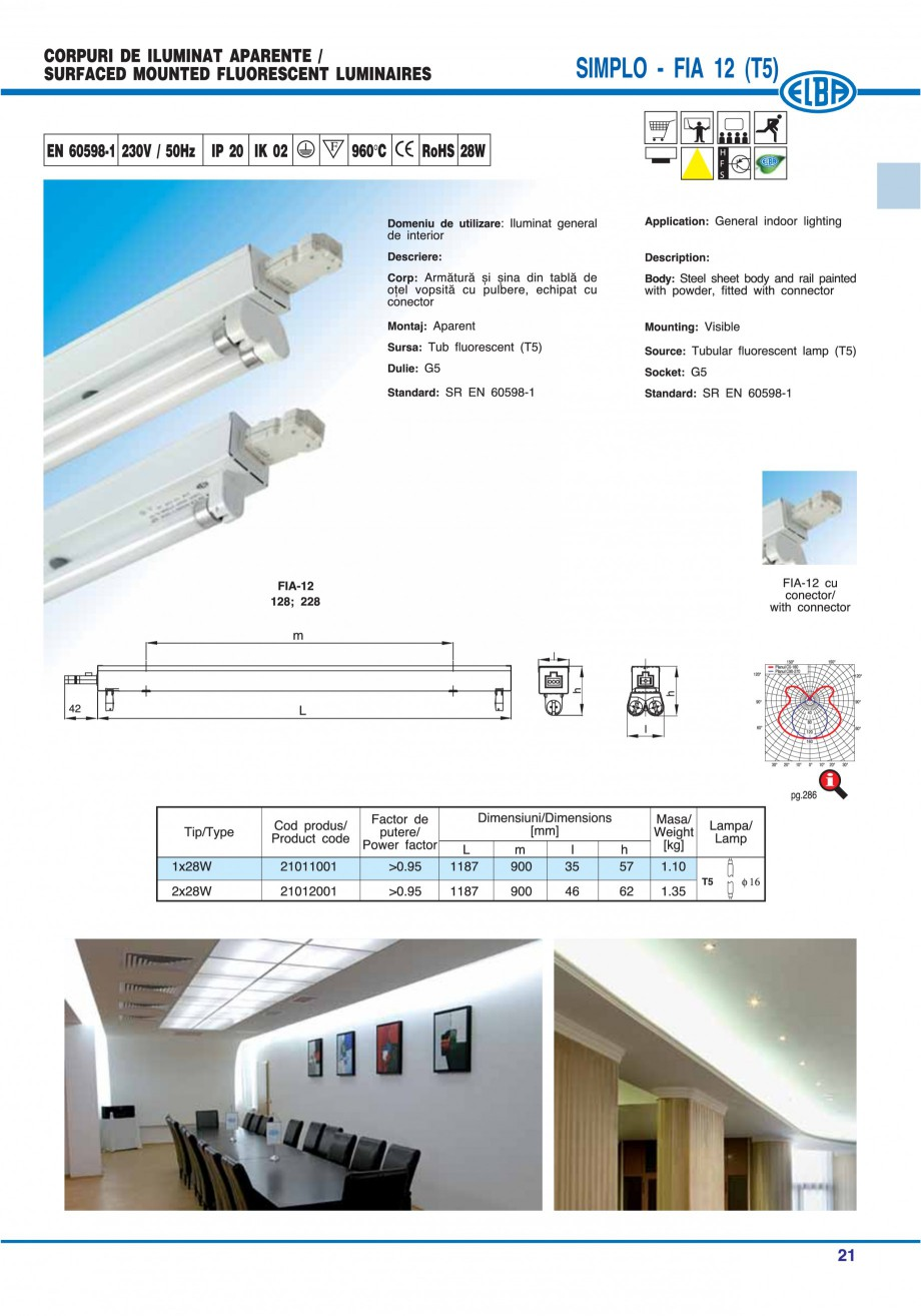 Pagina 28 - Catalog general de produse ELBA ELBA-COM CFSM 03, AV 02 C, AI 02 C Catalog, brosura...