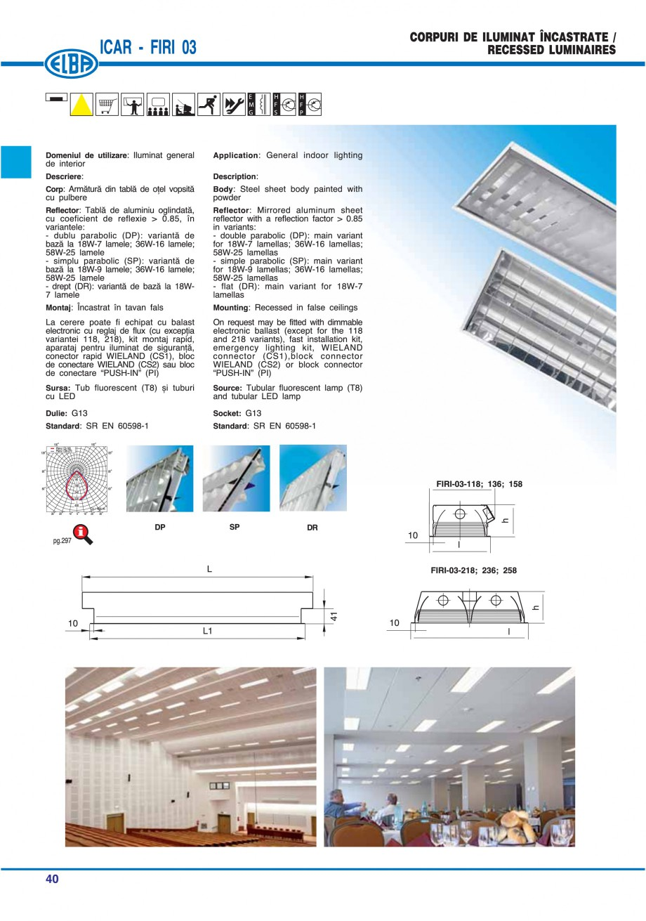 Pagina 39 - Catalog general de produse ELBA ELBA-COM CFSM 03, AV 02 C, AI 02 C Catalog, brosura...