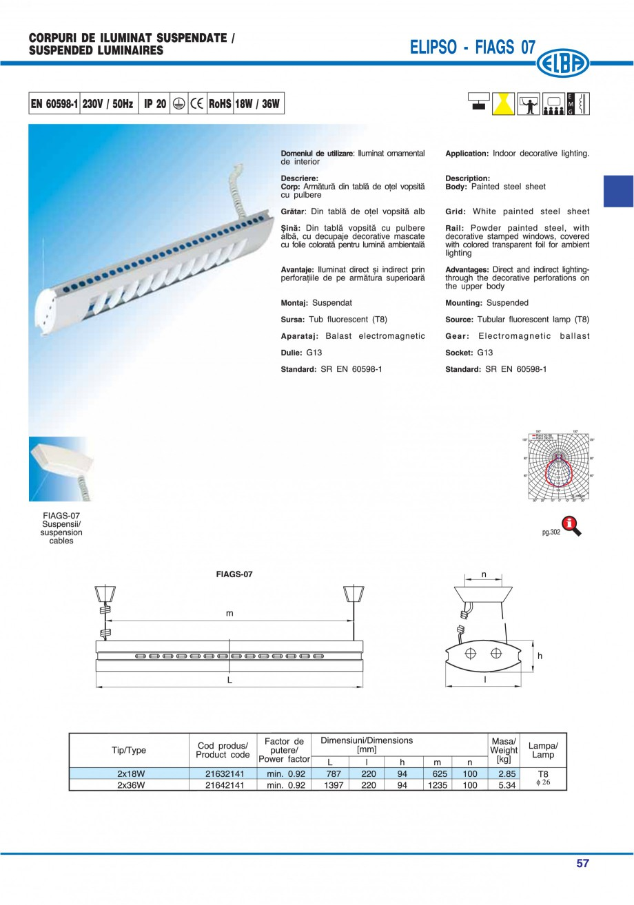 Pagina 56 - Catalog general de produse ELBA ELBA-COM CFSM 03, AV 02 C, AI 02 C Catalog, brosura...