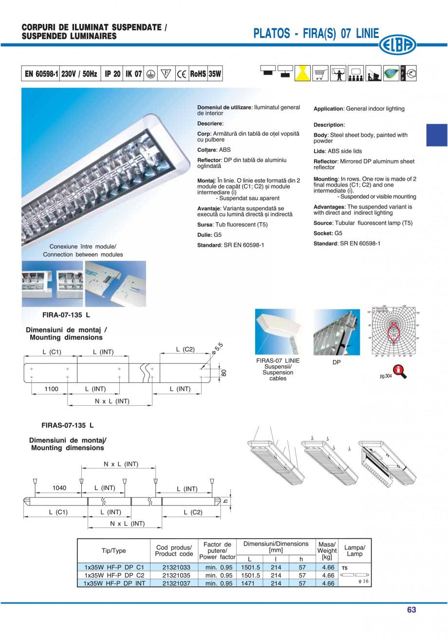 Pagina 62 - Catalog general de produse ELBA ELBA-COM CFSM 03, AV 02 C, AI 02 C Catalog, brosura...