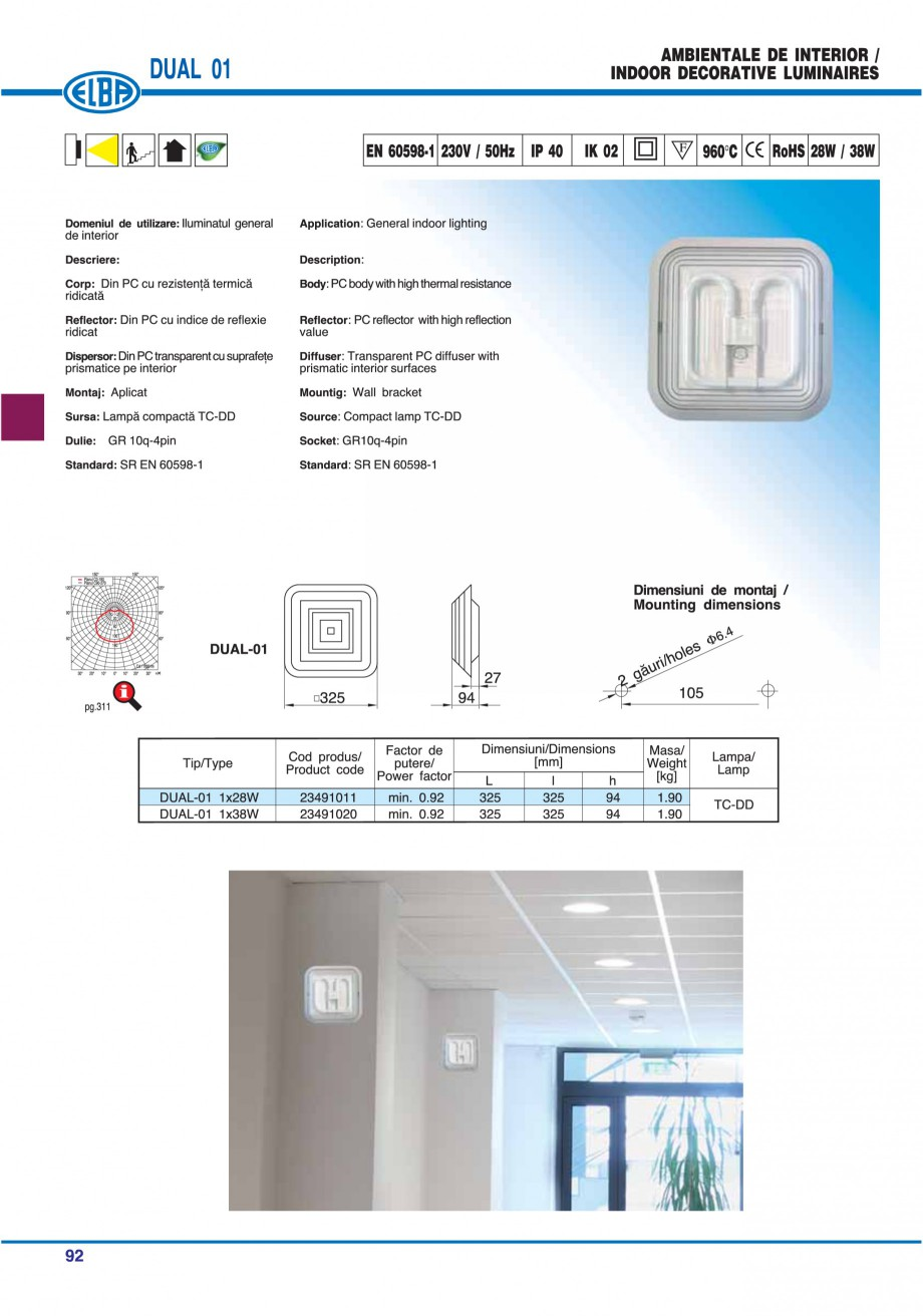 Pagina 91 - Catalog general de produse ELBA ELBA-COM CFSM 03, AV 02 C, AI 02 C Catalog, brosura...