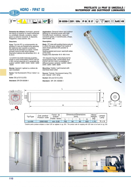 Pagina 109 - Catalog general de produse ELBA ELBA-COM CFSM 03, AV 02 C, AI 02 C Catalog, brosura...
