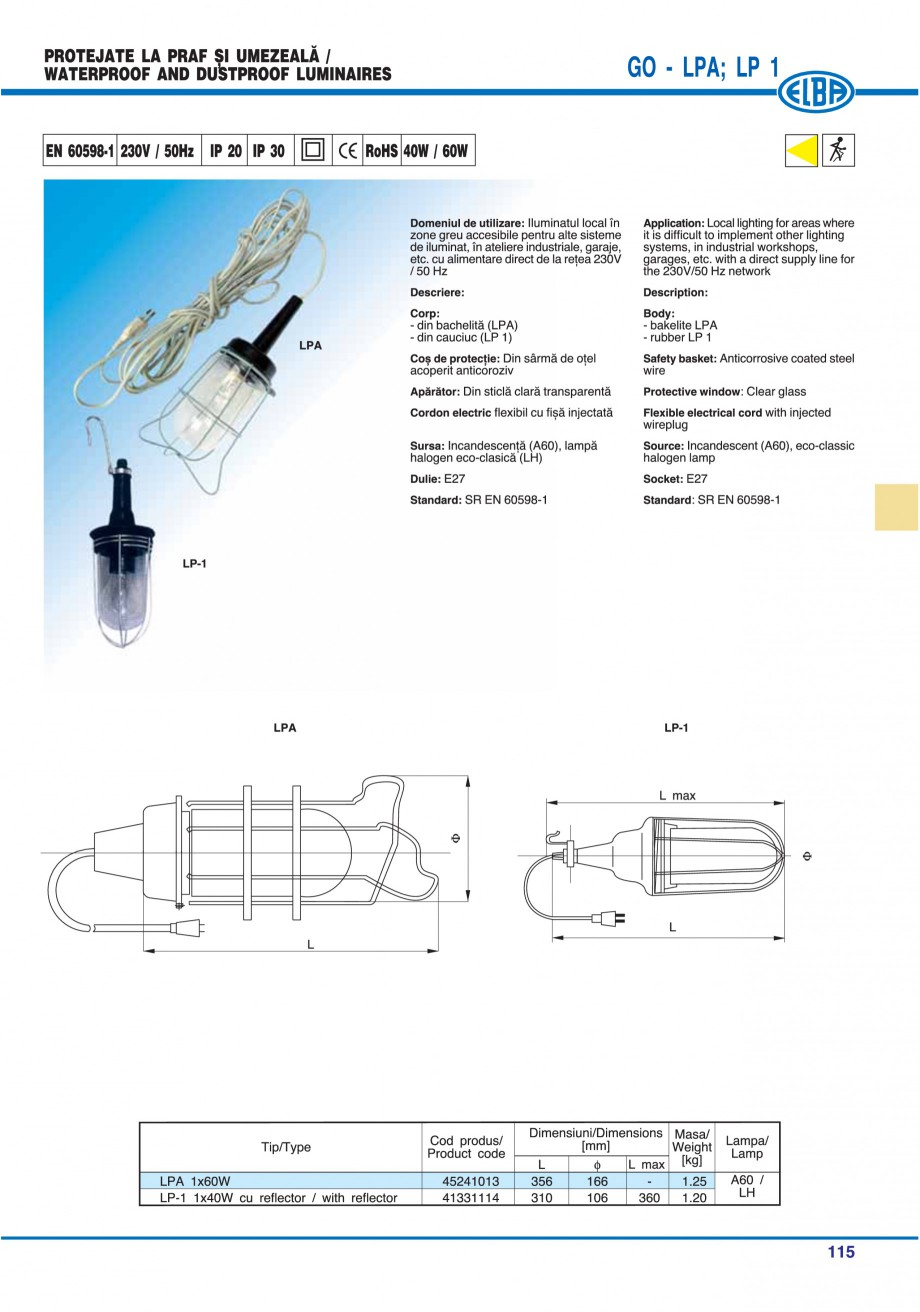 Pagina 114 - Catalog general de produse ELBA ELBA-COM CFSM 03, AV 02 C, AI 02 C Catalog, brosura...