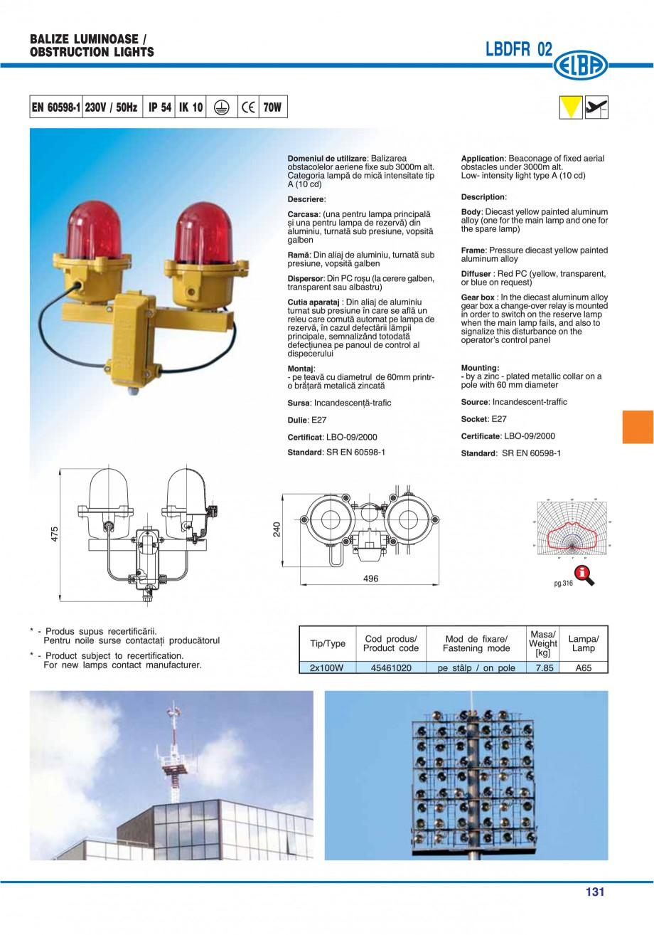 Pagina 130 - Catalog general de produse ELBA ELBA-COM CFSM 03, AV 02 C, AI 02 C Catalog, brosura...