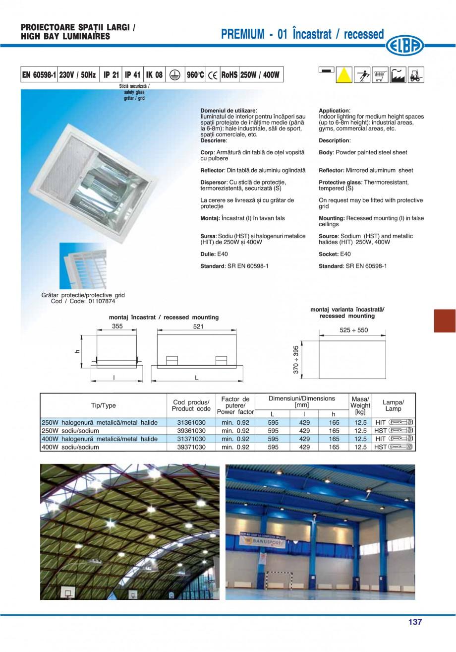 Pagina 136 - Catalog general de produse ELBA ELBA-COM CFSM 03, AV 02 C, AI 02 C Catalog, brosura...