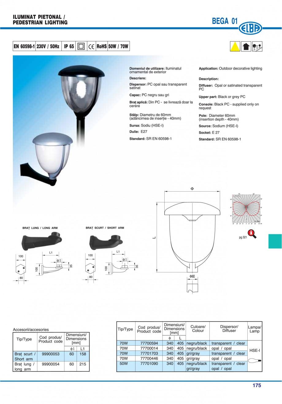 Pagina 174 - Catalog general de produse ELBA ELBA-COM CFSM 03, AV 02 C, AI 02 C Catalog, brosura...