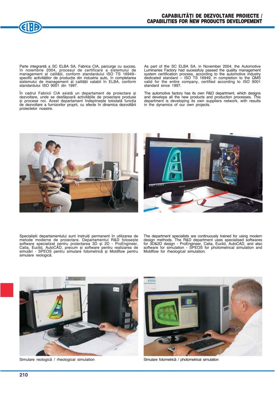 Pagina 206 - Catalog general de produse ELBA ELBA-COM CFSM 03, AV 02 C, AI 02 C Catalog, brosura...