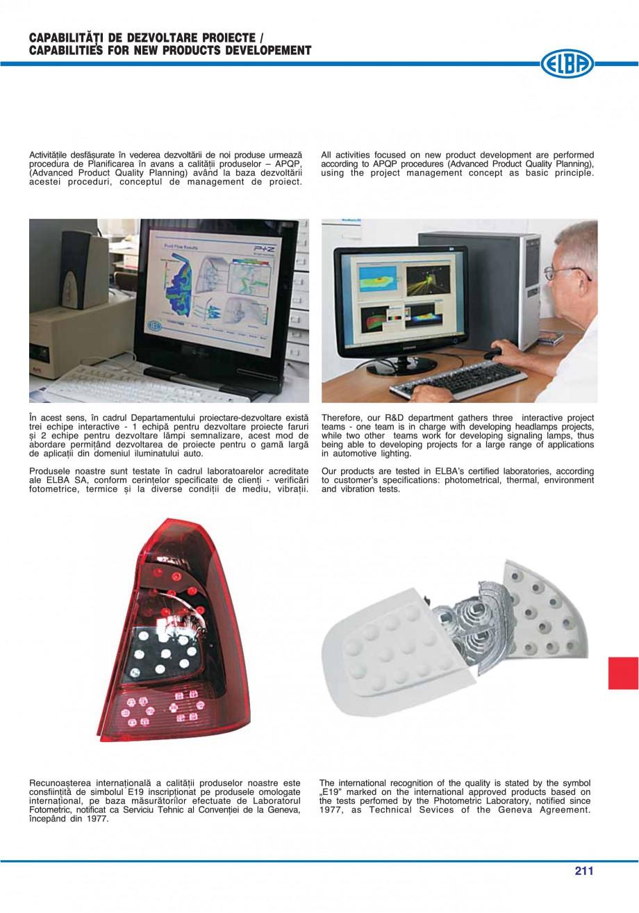 Pagina 207 - Catalog general de produse ELBA ELBA-COM CFSM 03, AV 02 C, AI 02 C Catalog, brosura...