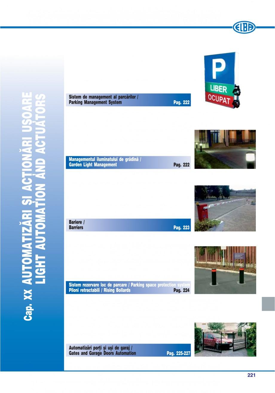 Pagina 216 - Catalog general de produse ELBA ELBA-COM CFSM 03, AV 02 C, AI 02 C Catalog, brosura...