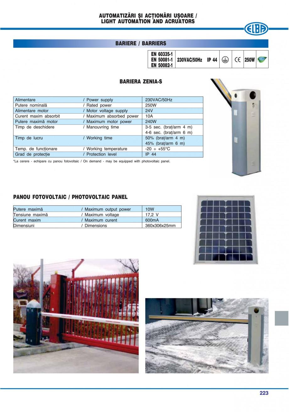 Pagina 218 - Catalog general de produse ELBA ELBA-COM CFSM 03, AV 02 C, AI 02 C Catalog, brosura...