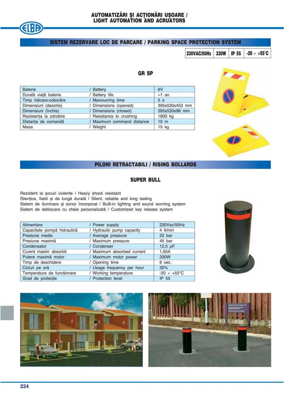 Pagina 219 - Catalog general de produse ELBA ELBA-COM CFSM 03, AV 02 C, AI 02 C Catalog, brosura...