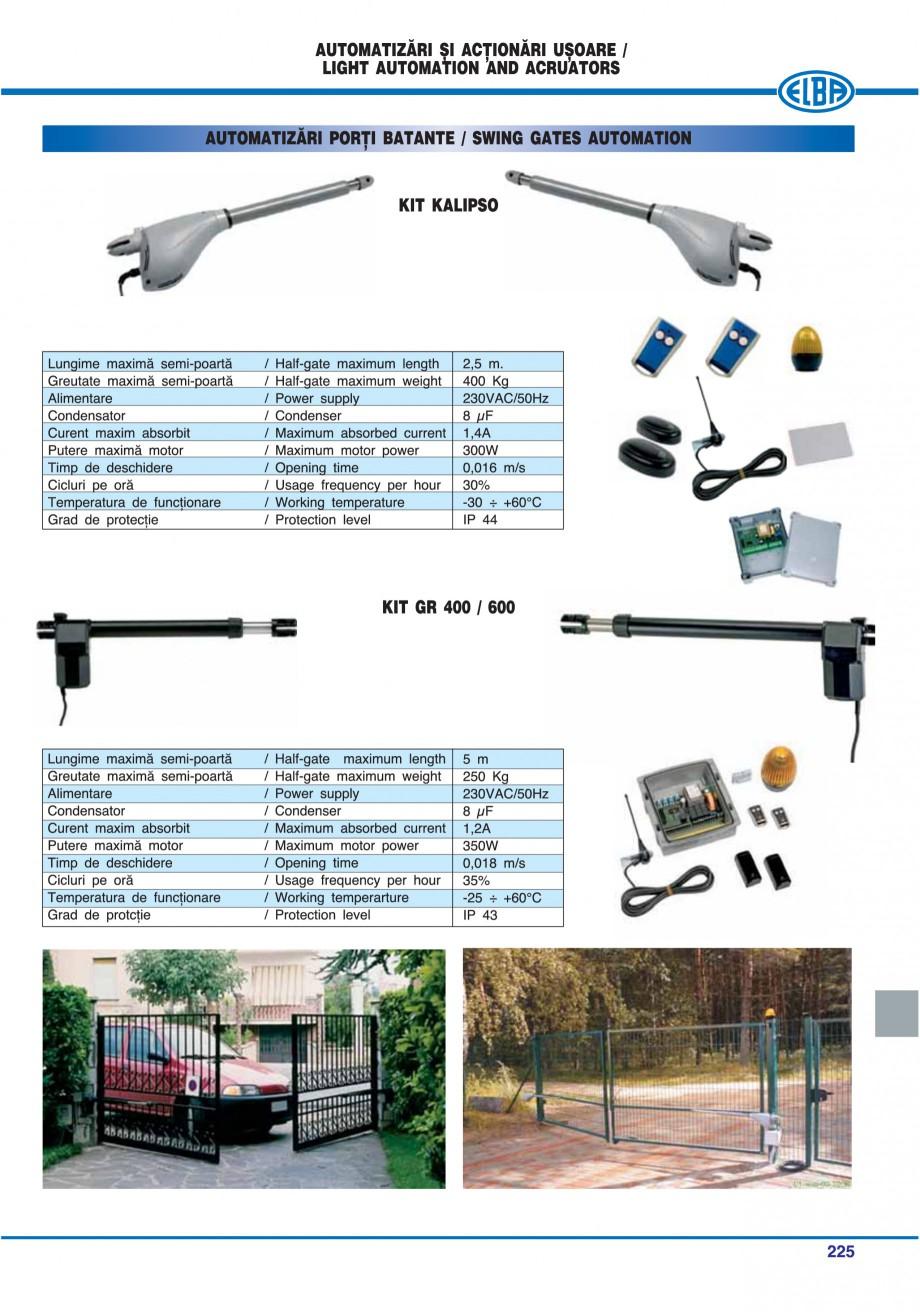 Pagina 220 - Catalog general de produse ELBA ELBA-COM CFSM 03, AV 02 C, AI 02 C Catalog, brosura...