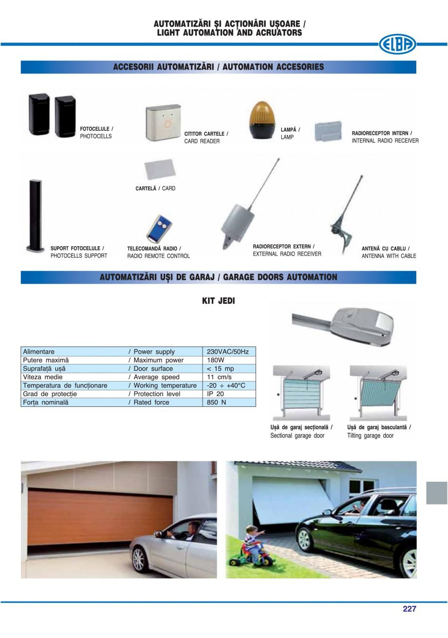 Pagina 222 - Catalog general de produse ELBA ELBA-COM CFSM 03, AV 02 C, AI 02 C Catalog, brosura...