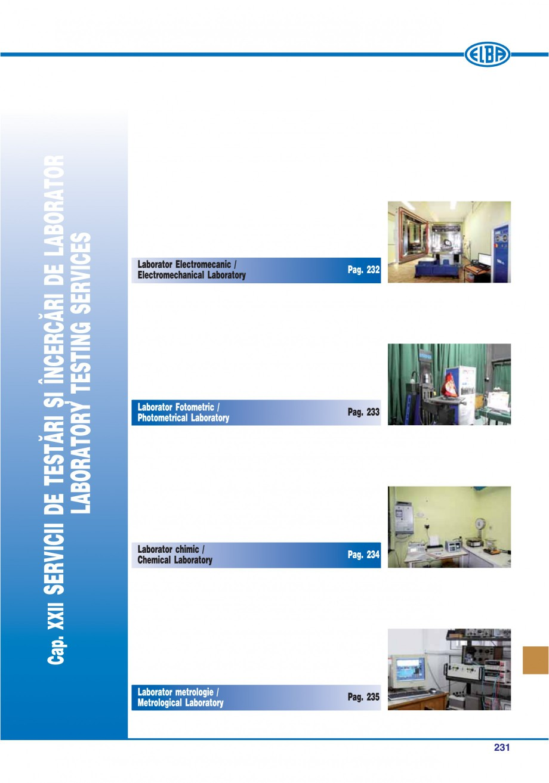 Pagina 226 - Catalog general de produse ELBA ELBA-COM CFSM 03, AV 02 C, AI 02 C Catalog, brosura...