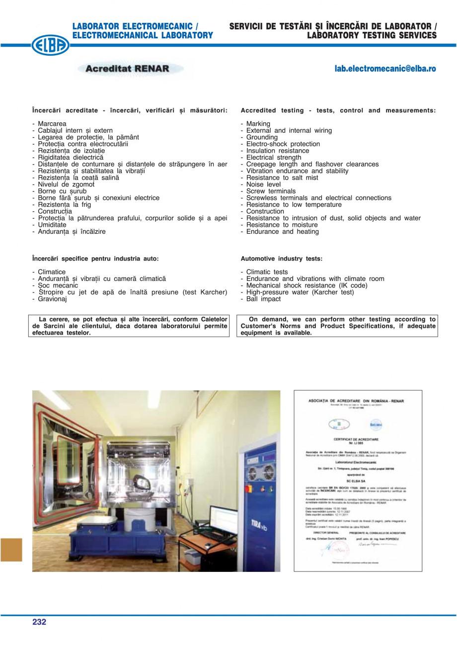 Pagina 227 - Catalog general de produse ELBA ELBA-COM CFSM 03, AV 02 C, AI 02 C Catalog, brosura...