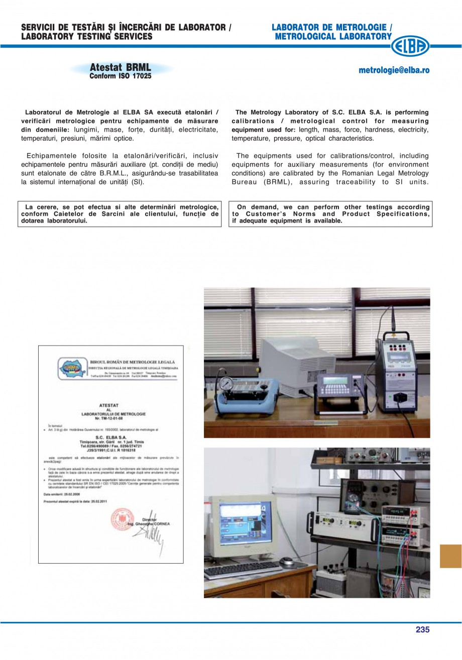 Pagina 230 - Catalog general de produse ELBA ELBA-COM CFSM 03, AV 02 C, AI 02 C Catalog, brosura...