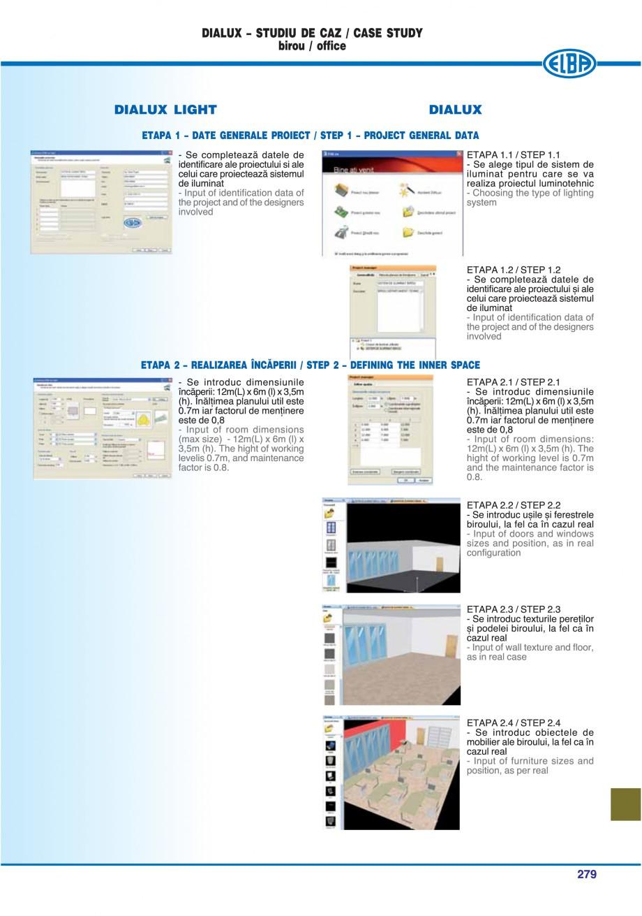 Pagina 274 - Catalog general de produse ELBA ELBA-COM CFSM 03, AV 02 C, AI 02 C Catalog, brosura...