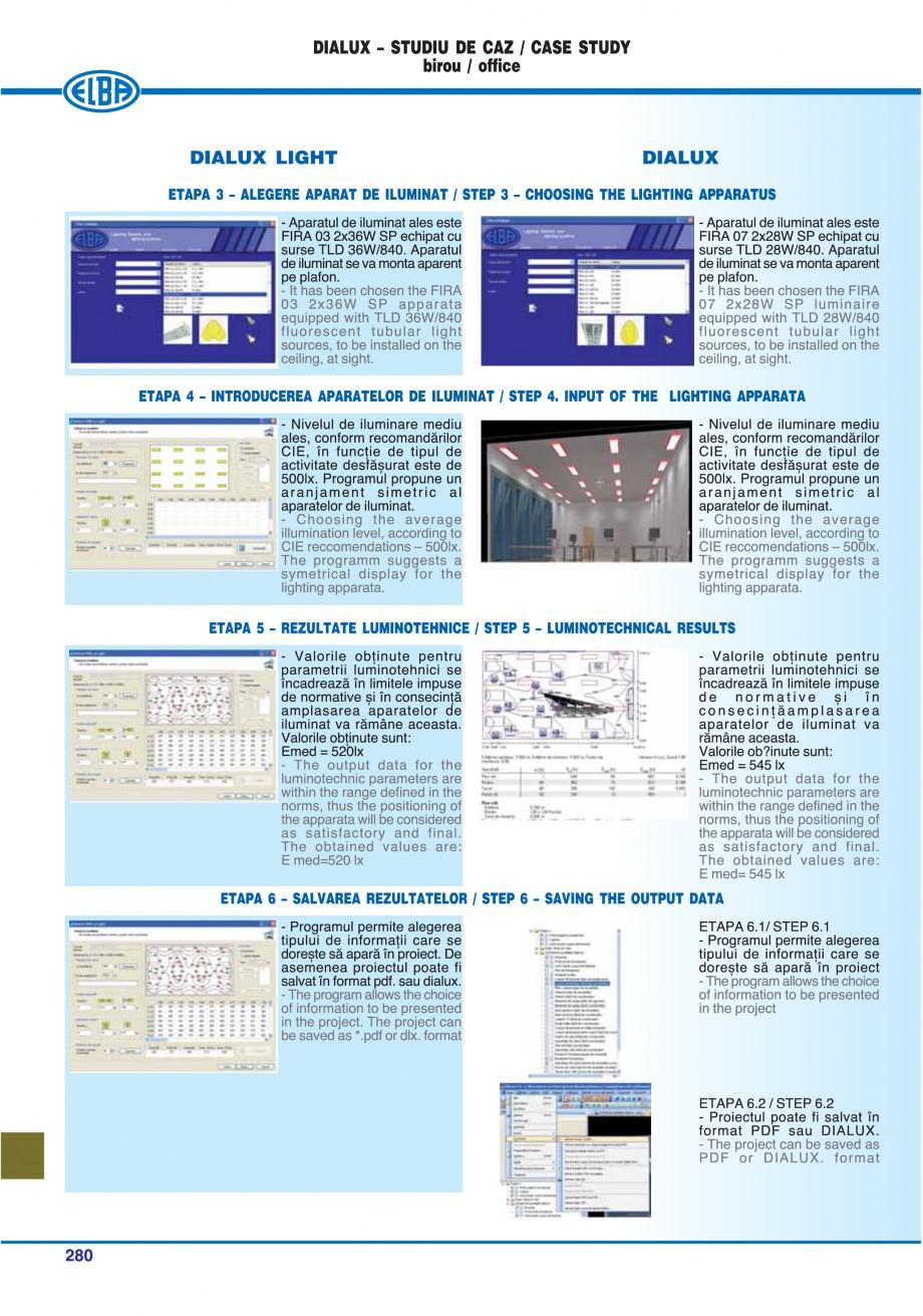 Pagina 275 - Catalog general de produse ELBA ELBA-COM CFSM 03, AV 02 C, AI 02 C Catalog, brosura...
