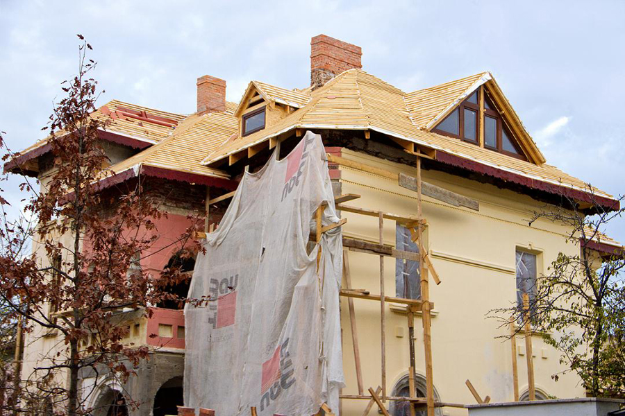 Proiect renovare acoperis Rezidential, str Popa Nan - Sarpanta + invelitoare Tondach solzi + Cedonia ACOPERO - Poza 3
