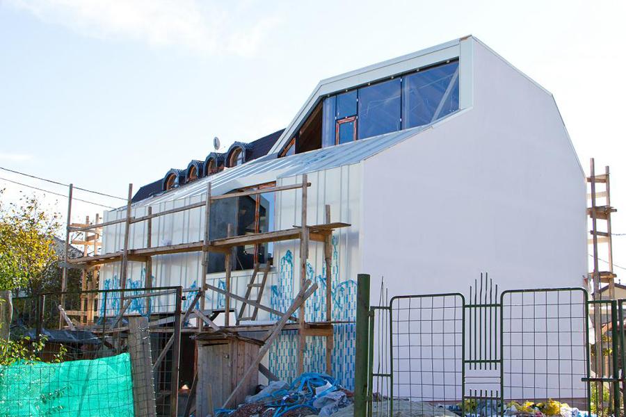Proiect rezidential fatada si invelitoare, cu tabla faltuita Onyx Pearl - Bucuresti ACOPERO - Poza 7