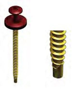 Surub Onduline pentru lemn si metal sub 2mm ONDUVILLA - Poza 47
