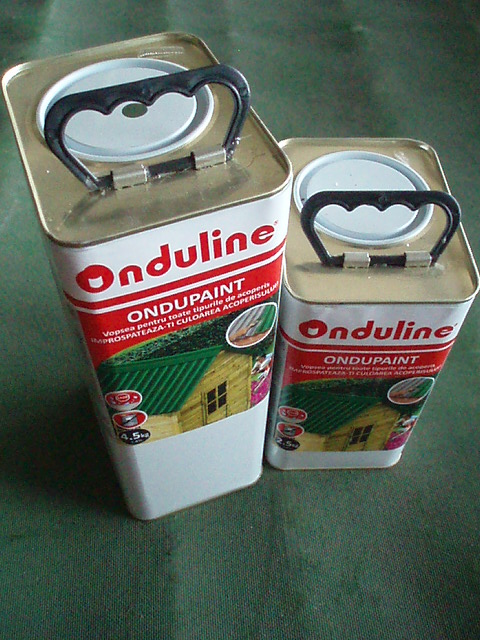 Vopsea Ondupaint verde BARDOLINE - Poza 9