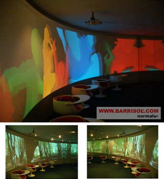 Lucrari de referinta Proiectii si efecte de lumina BARRISOL - Poza 2