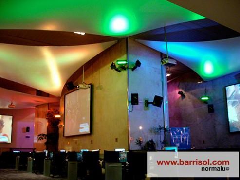Lucrari de referinta Proiectii si efecte de lumina BARRISOL - Poza 5