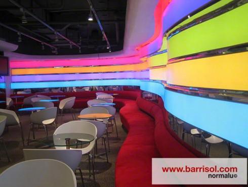 Lucrari de referinta Pereti colorati Barrisol Lumiere BARRISOL - Poza 6
