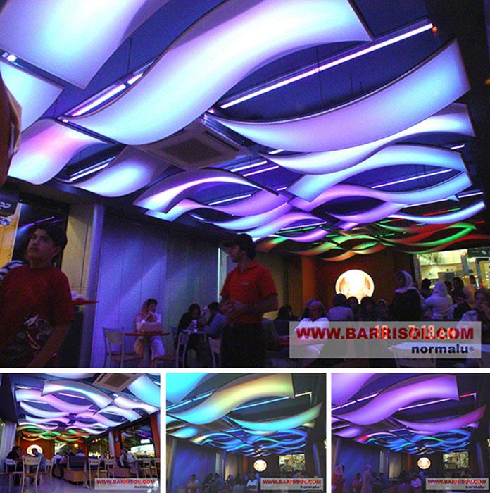 Proiecte realizate cu Barrisol Lumiere Color BARRISOL - Poza 3