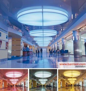 Lucrari de referinta Proiecte realizate cu Barrisol Lumiere Color BARRISOL - Poza 5