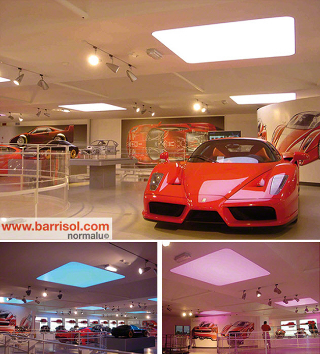 Proiecte realizate cu Barrisol Lumiere Color BARRISOL - Poza 6