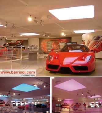 Lucrari de referinta Proiecte realizate cu Barrisol Lumiere Color BARRISOL - Poza 6