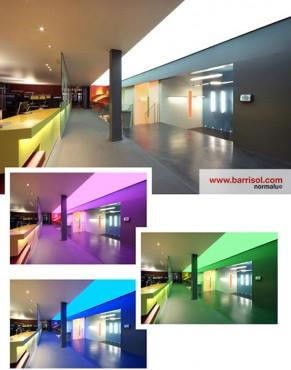 Lucrari de referinta Proiecte realizate cu Barrisol Lumiere Color BARRISOL - Poza 7